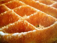 Waffle Close-up