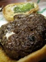 Verna's teri burger