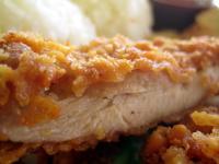 Chicken Katsu close up