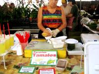 She's preparing my tamale