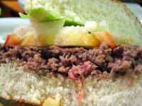 Burger close-up