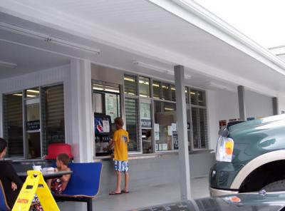 Blane's Drive Inn Front