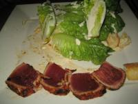 Blackened Ahi with Baby Romaine