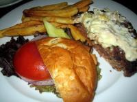 Half of a Bay Burger