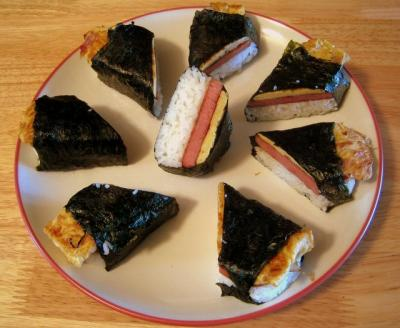 Homemade Spam Musubi