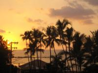 Beautiful Kona sunset