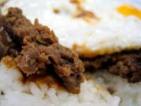 Mister D's loco moco close-up