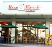 Pizza Hawaii Outside